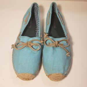 Sperry Top Sider Katama Turquoise Espadrilles